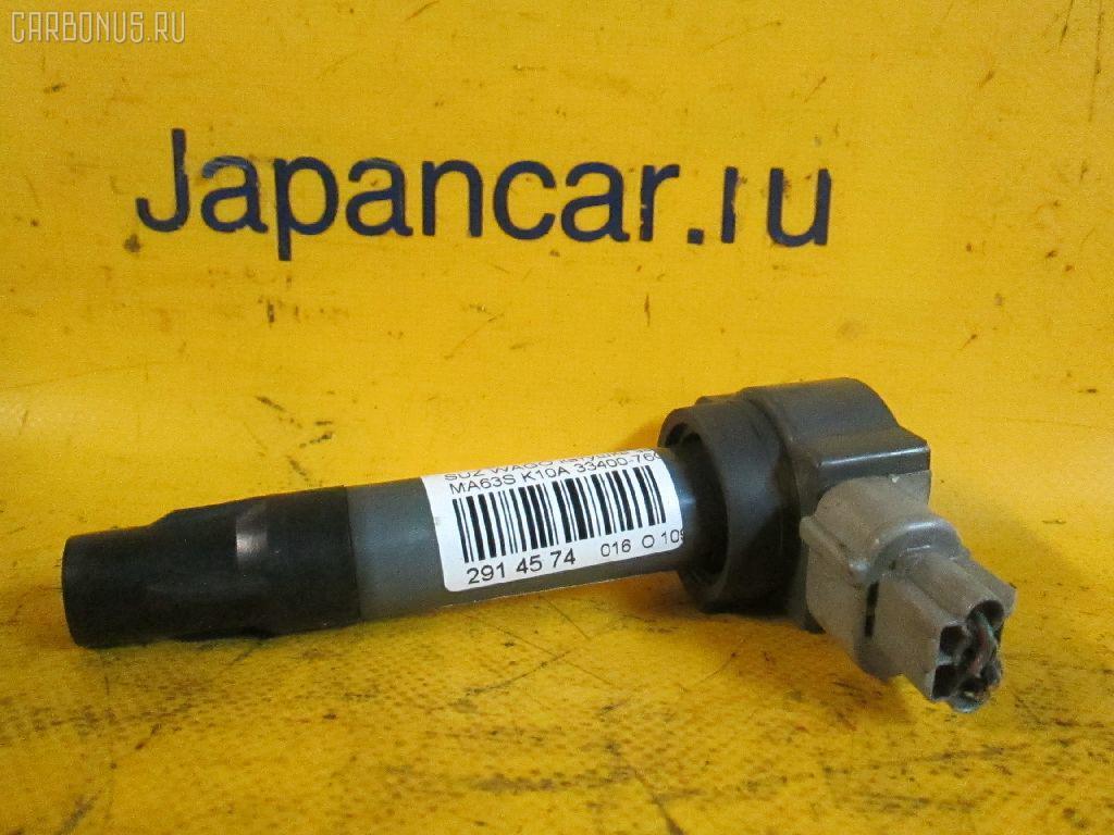 Катушка зажигания Suzuki Wagon r plus MA63S K10A Фото 1