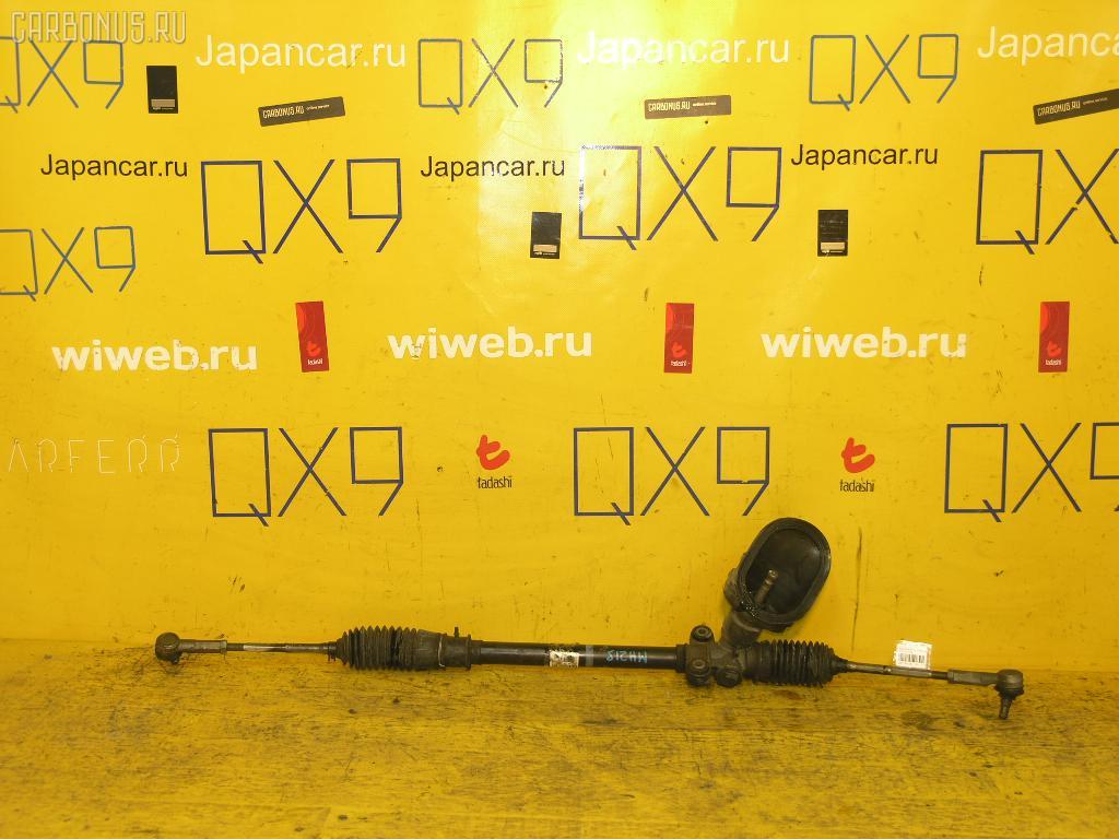 Рулевая рейка SUZUKI WAGON R MH21S K6A. Фото 5