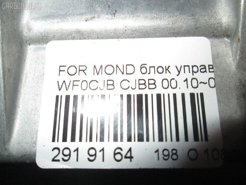 Блок управления air bag FORD MONDEO III WF0CJB Фото 8