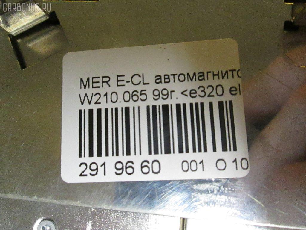 Автомагнитофон MERCEDES-BENZ E-CLASS W210.065 Фото 9