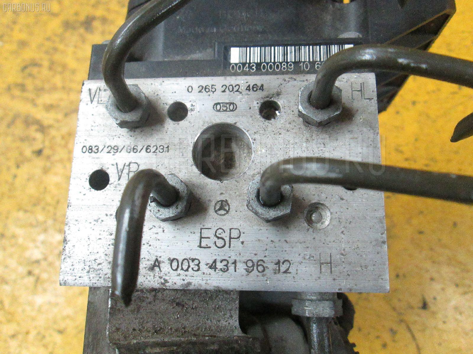 Блок ABS MERCEDES-BENZ E-CLASS STATION WAGON S210.261 112.911 Фото 4
