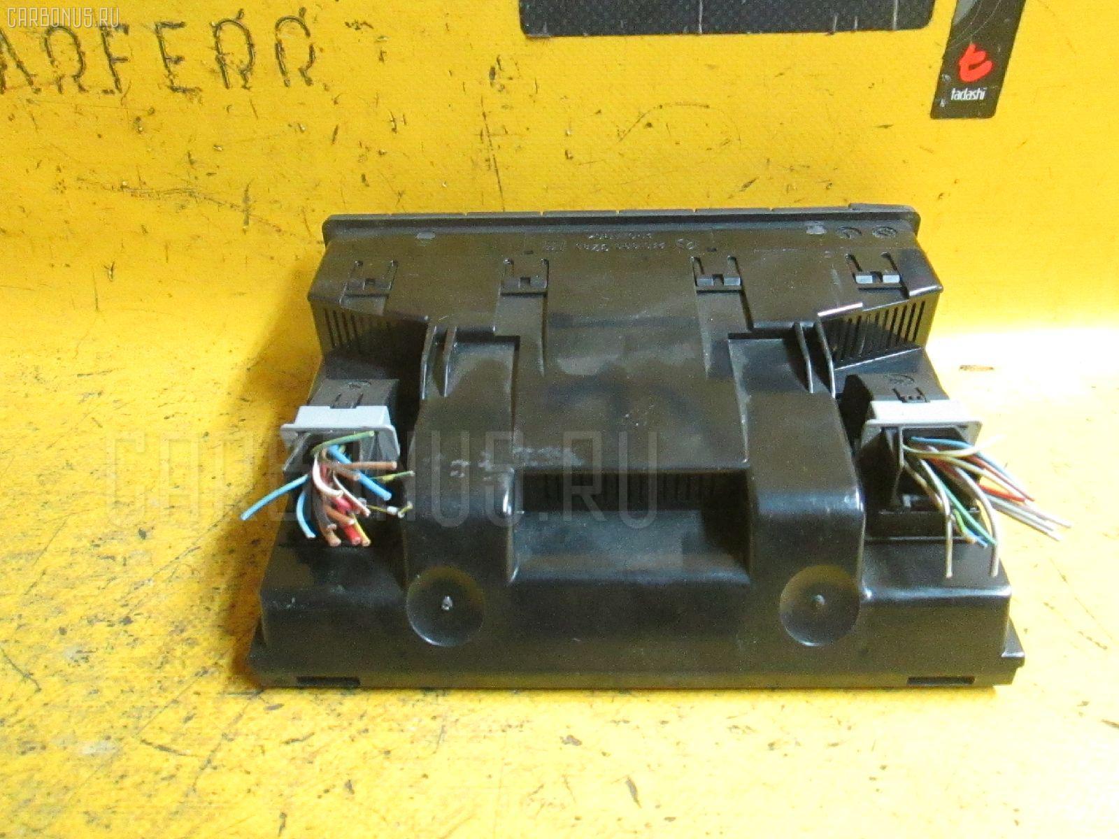 Блок управления климатконтроля MERCEDES-BENZ E-CLASS W210.055 104.995. Фото 4