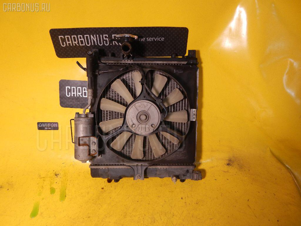 Радиатор ДВС SUZUKI WAGON R MC11S F6A. Фото 3