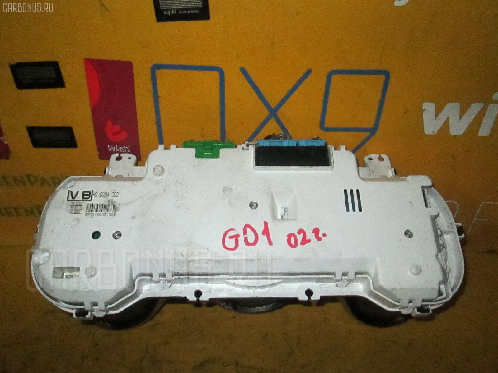 Спидометр HONDA FIT GD1 L13A. Фото 9