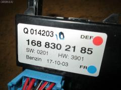 Блок управления климатконтроля MERCEDES-BENZ A-CLASS W168.033 166.960 Фото 3