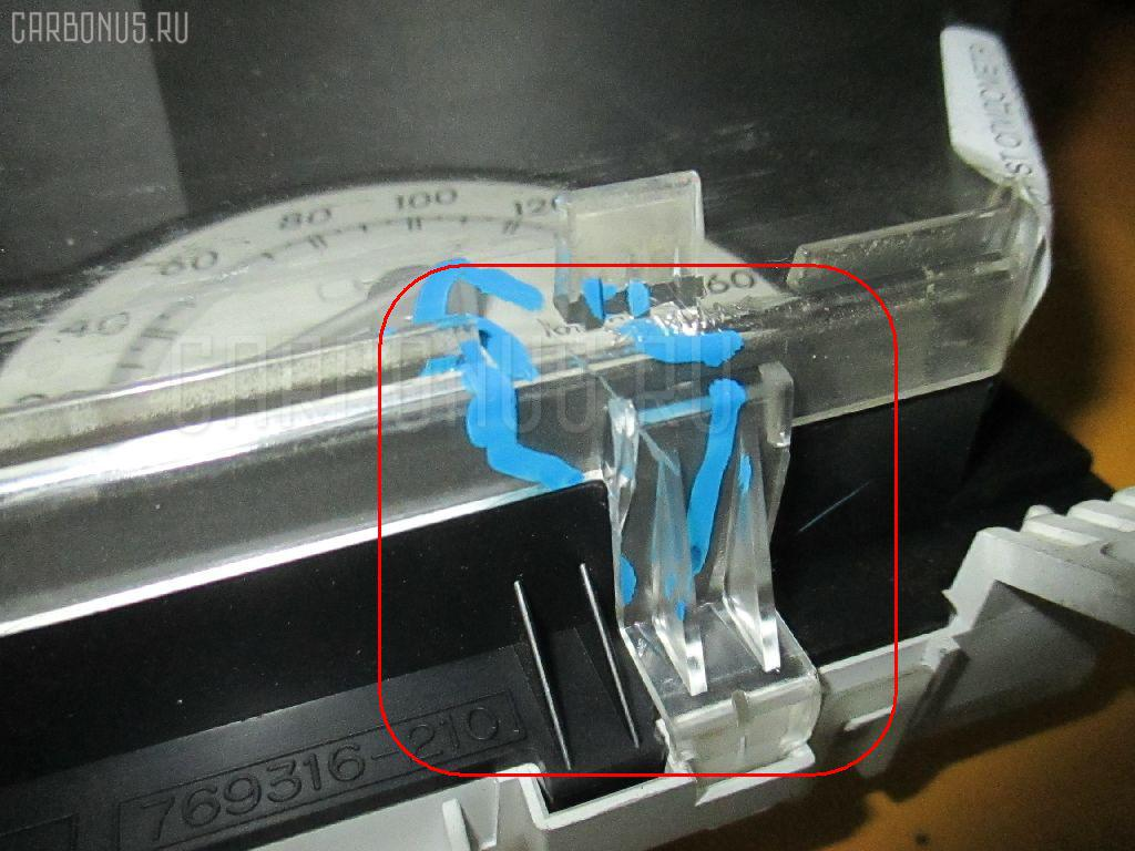 Спидометр TOYOTA IST NCP60 2NZ-FE. Фото 2