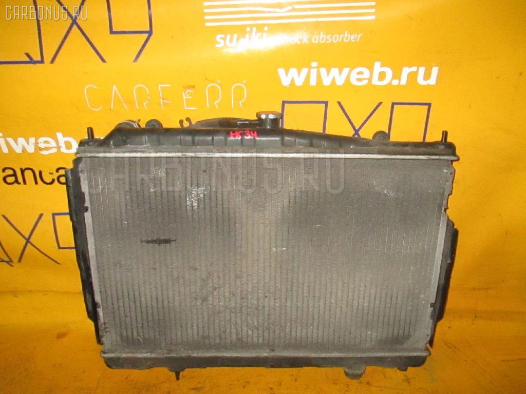 Радиатор ДВС NISSAN LAUREL HC34 RB20DE. Фото 3