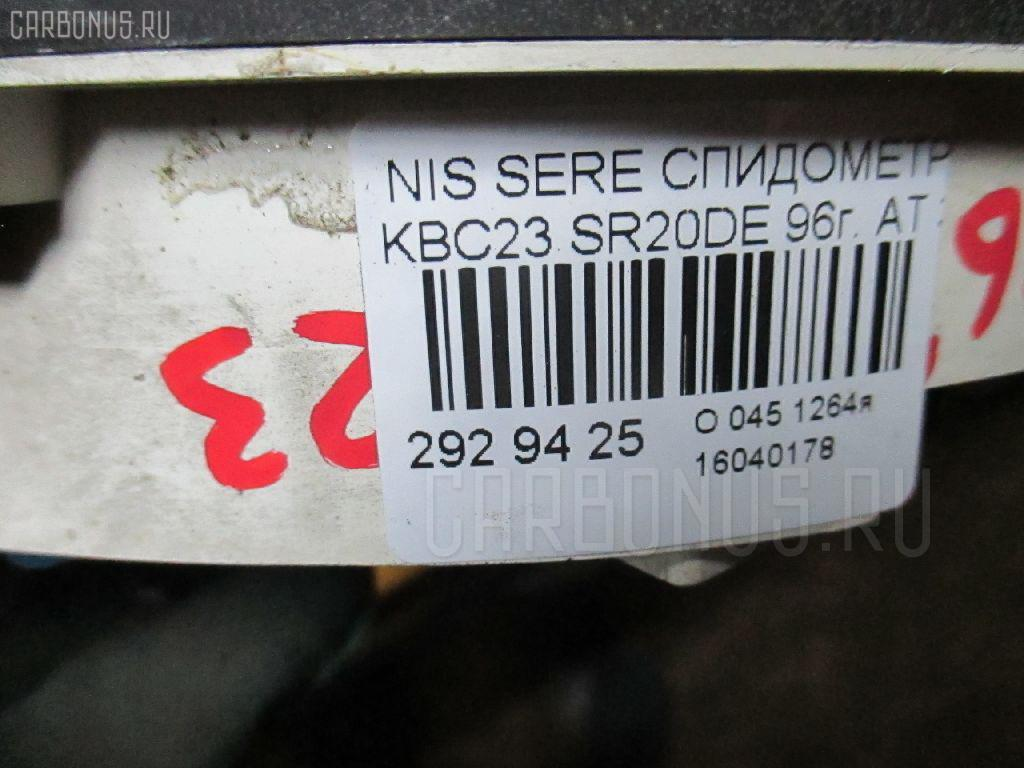 Спидометр NISSAN SERENA KBC23 SR20DE Фото 3