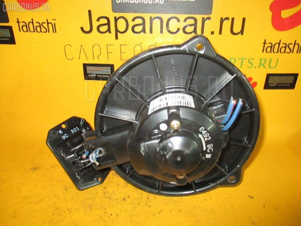 Мотор печки TOYOTA VITZ SCP10. Фото 8
