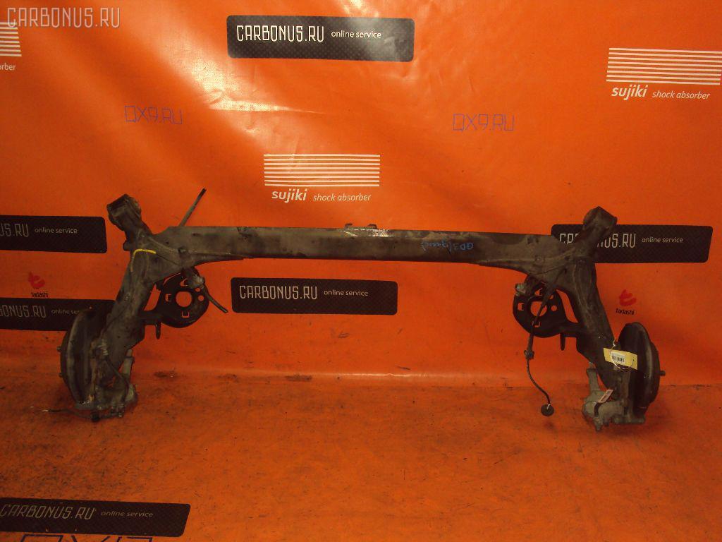 Балка подвески HONDA FIT GD3 L15A. Фото 1