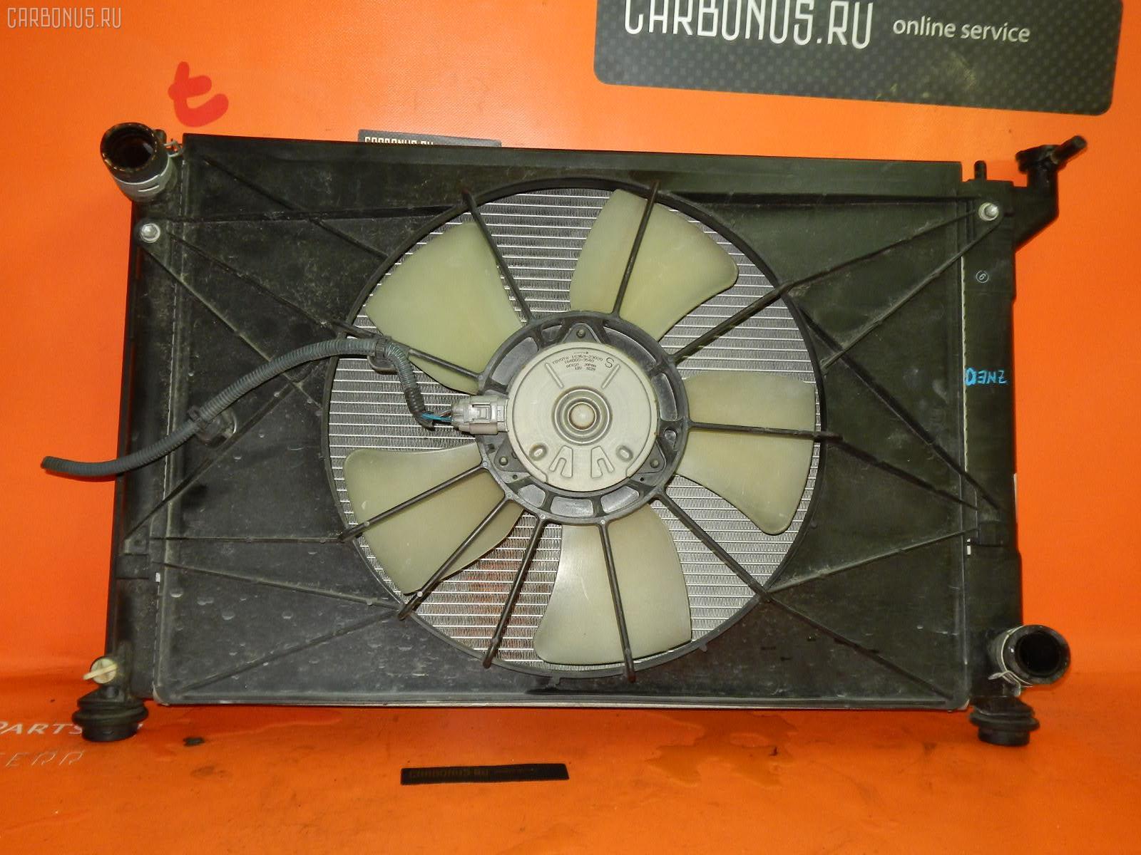 Радиатор ДВС TOYOTA WISH ZNE10G 1ZZ-FE. Фото 10