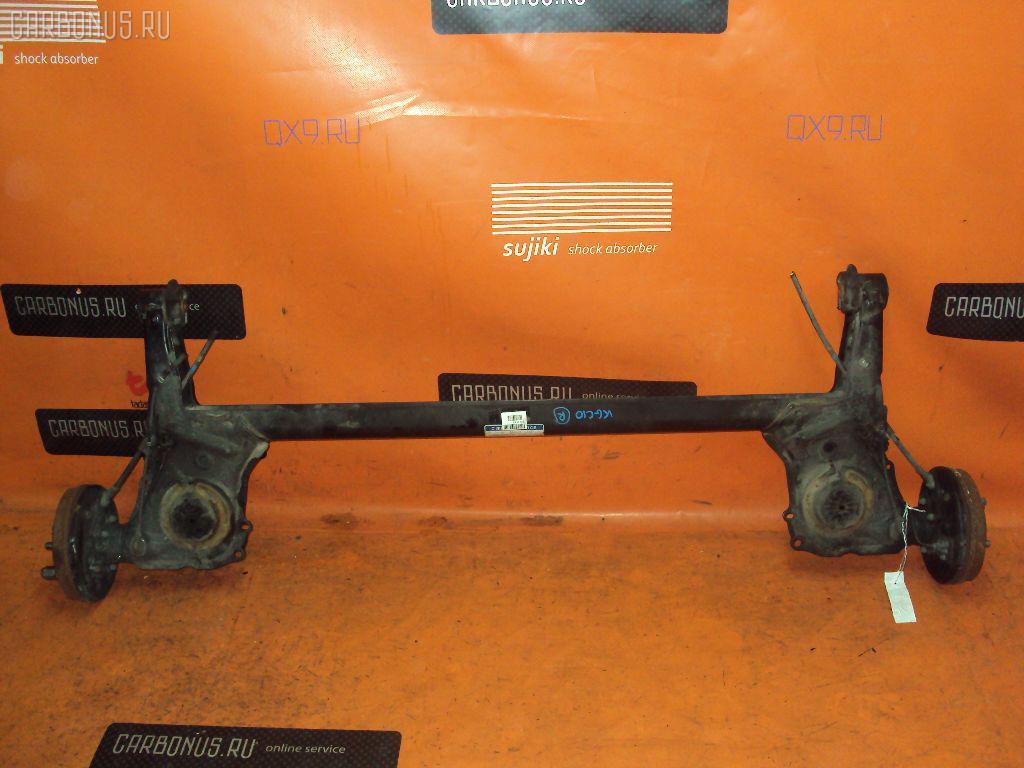 Балка подвески TOYOTA PASSO KGC10 1KR-FE. Фото 9