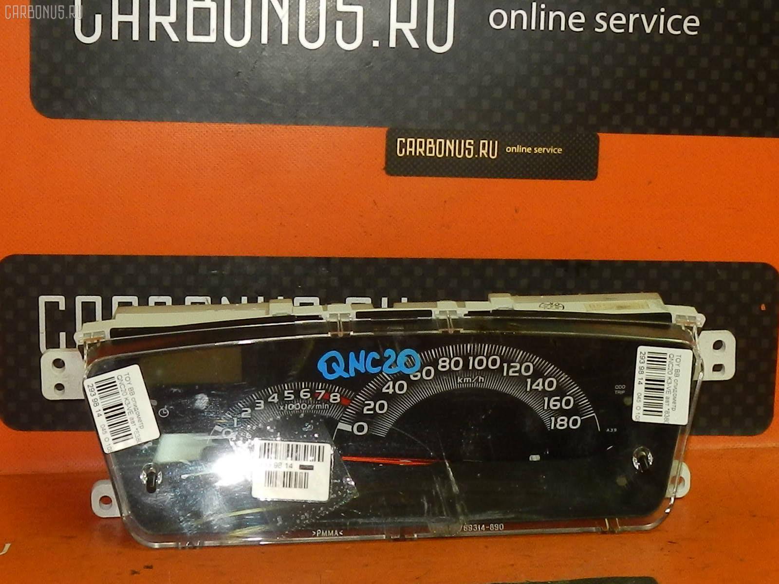 Спидометр Toyota Bb QNC20 K3-VE Фото 1