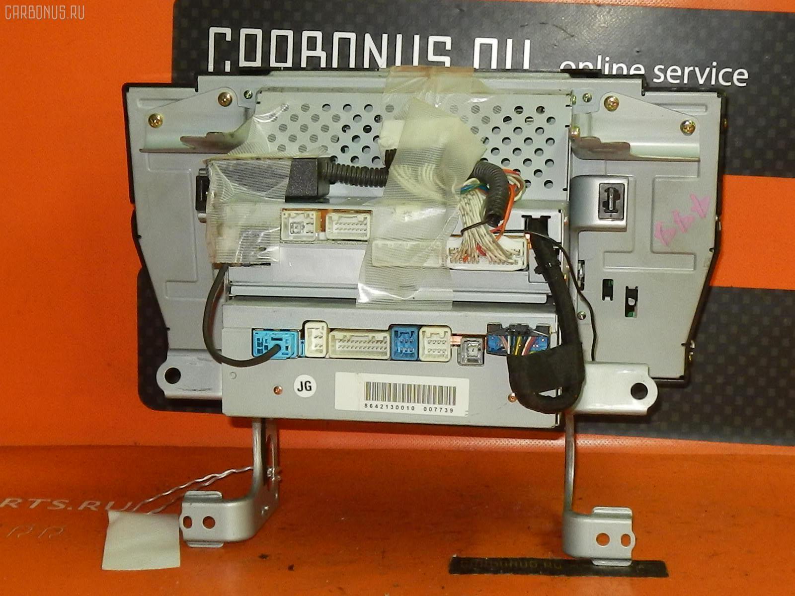 Блок управления климатконтроля TOYOTA CROWN GRS182 3GR-FSE. Фото 2