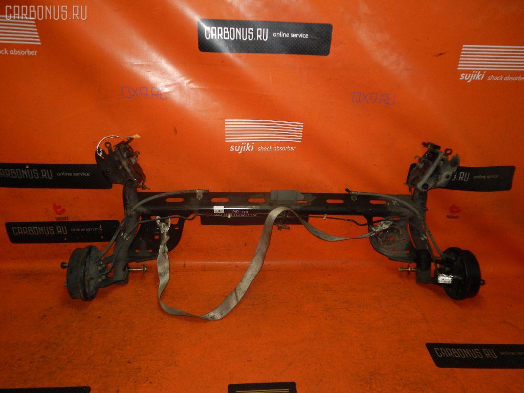 Балка подвески NISSAN NOTE E11 HR15DE. Фото 3