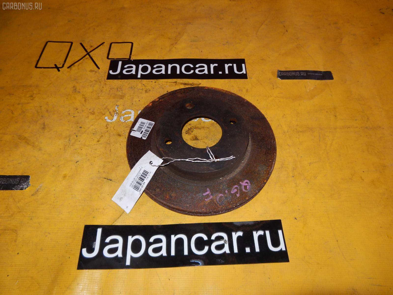 Тормозной диск NISSAN WINGROAD WFY11 QG15DE. Фото 2