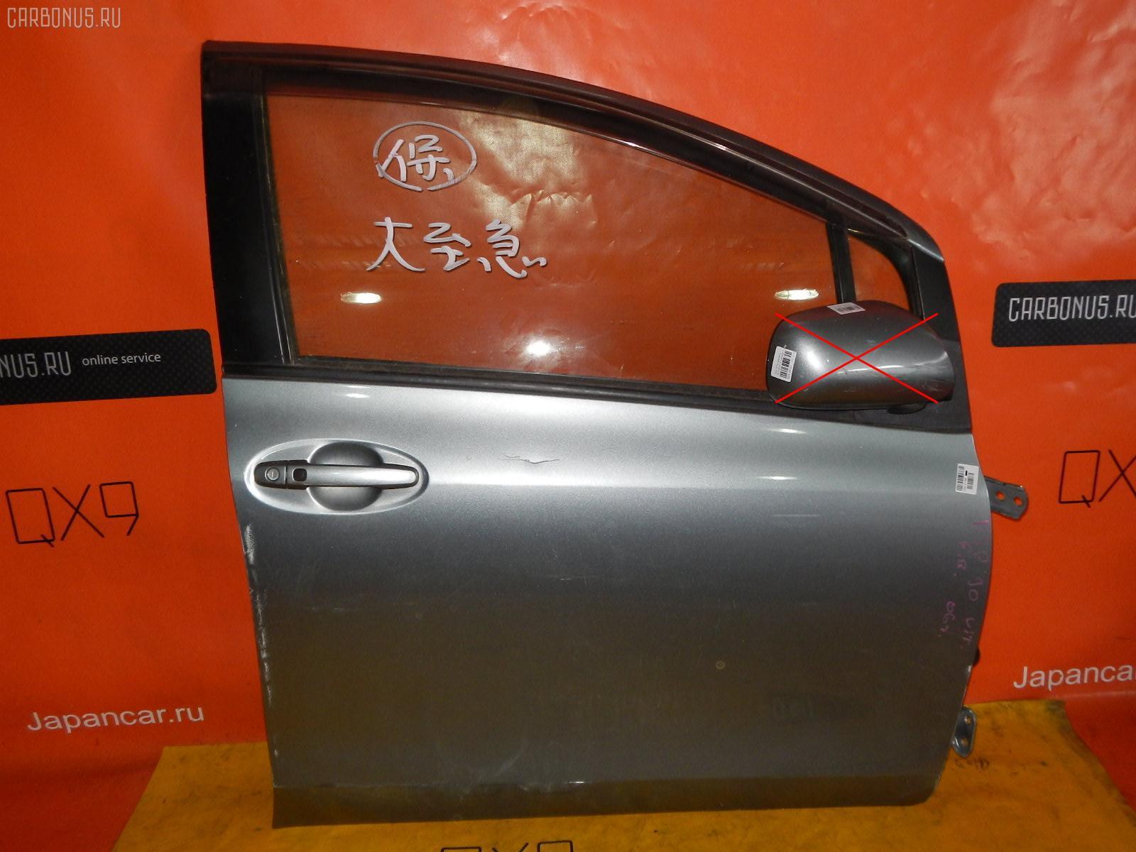 Дверь боковая TOYOTA VITZ KSP90. Фото 1