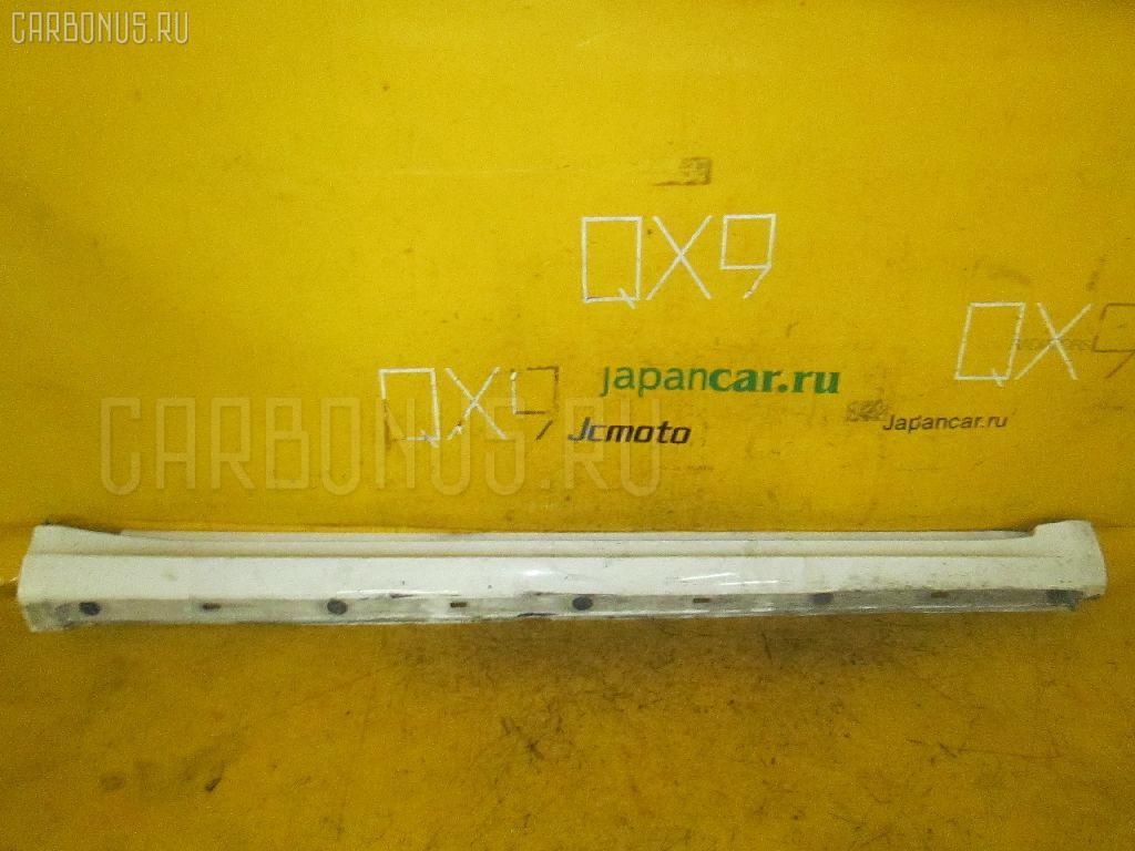 Порог кузова пластиковый ( обвес ) MERCEDES-BENZ A-CLASS W169.032 Фото 3