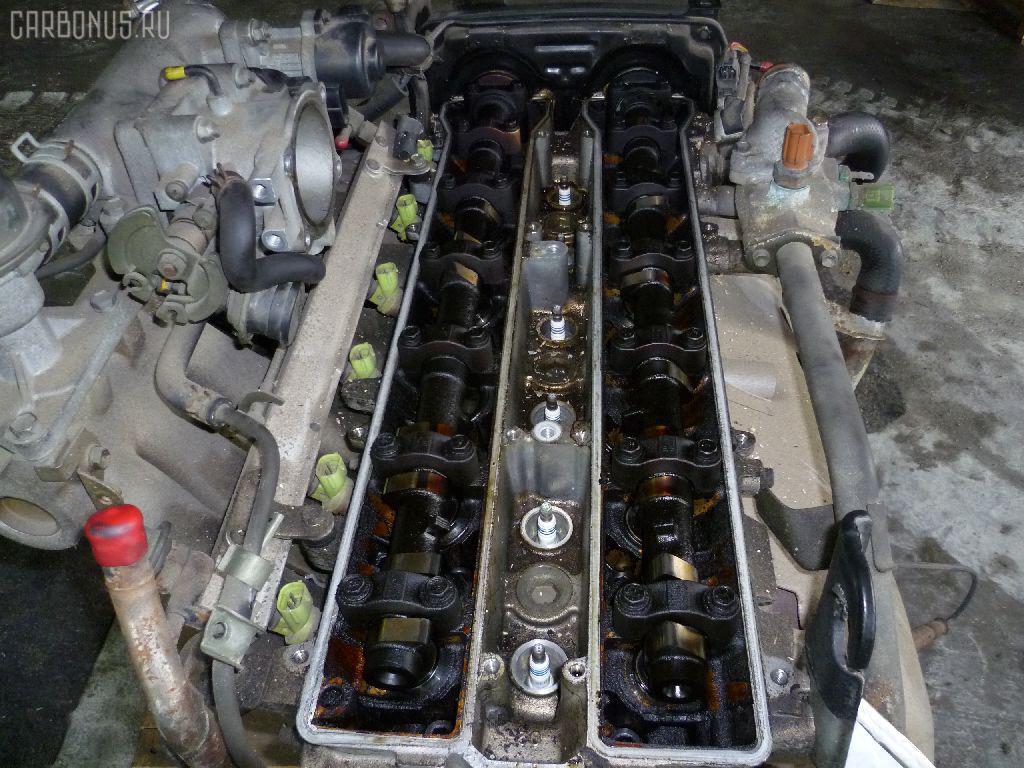 Двигатель TOYOTA MARK II GX81 1G-GZE. Фото 3