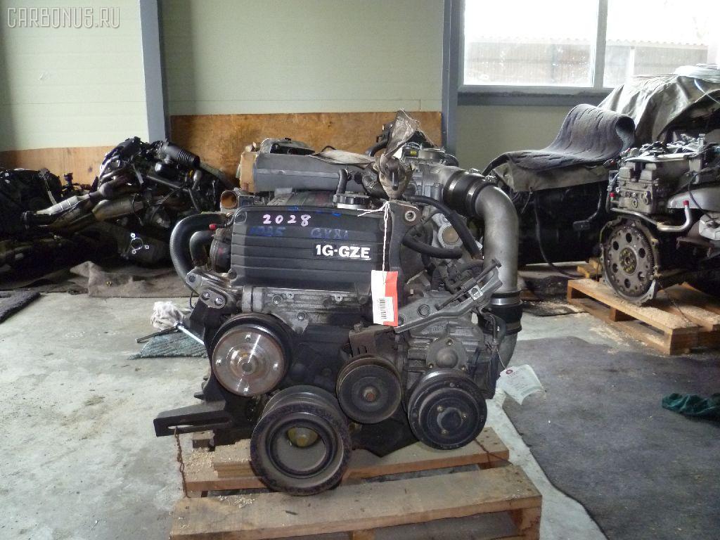 Двигатель TOYOTA MARK II GX81 1G-GZE. Фото 5