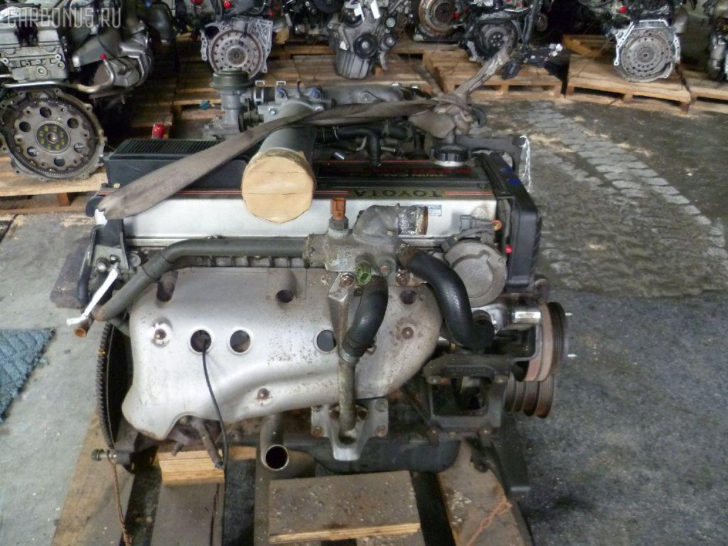 Двигатель TOYOTA MARK II GX81 1G-GZE. Фото 6