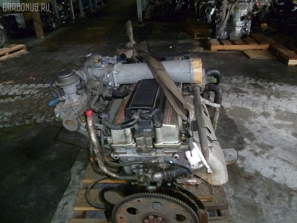 Двигатель TOYOTA MARK II GX81 1G-GZE. Фото 7