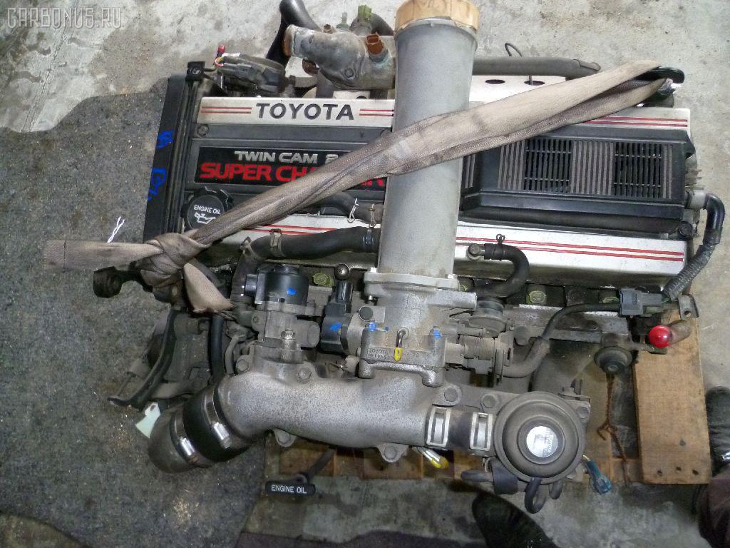 Двигатель TOYOTA MARK II GX81 1G-GZE. Фото 10