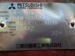 Защита бампера Mitsubishi Airtrek CU4W Фото 2