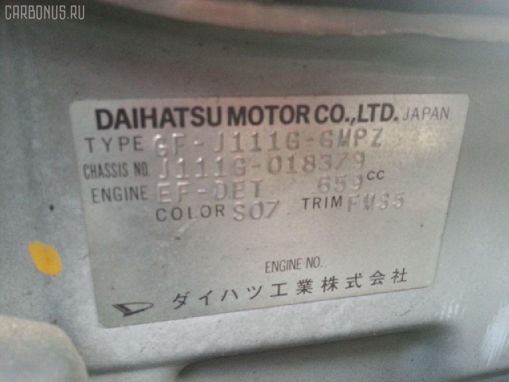 КПП механическая DAIHATSU TERIOS KID J111G EF-DET Фото 6