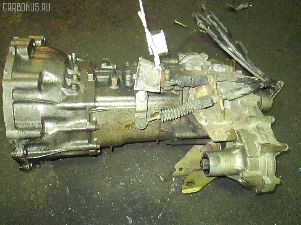 КПП механическая DAIHATSU TERIOS KID J111G EF-DET. Фото 3