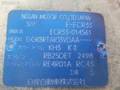 Радиатор кондиционера Nissan Skyline ECR33 RB25DET Фото 3