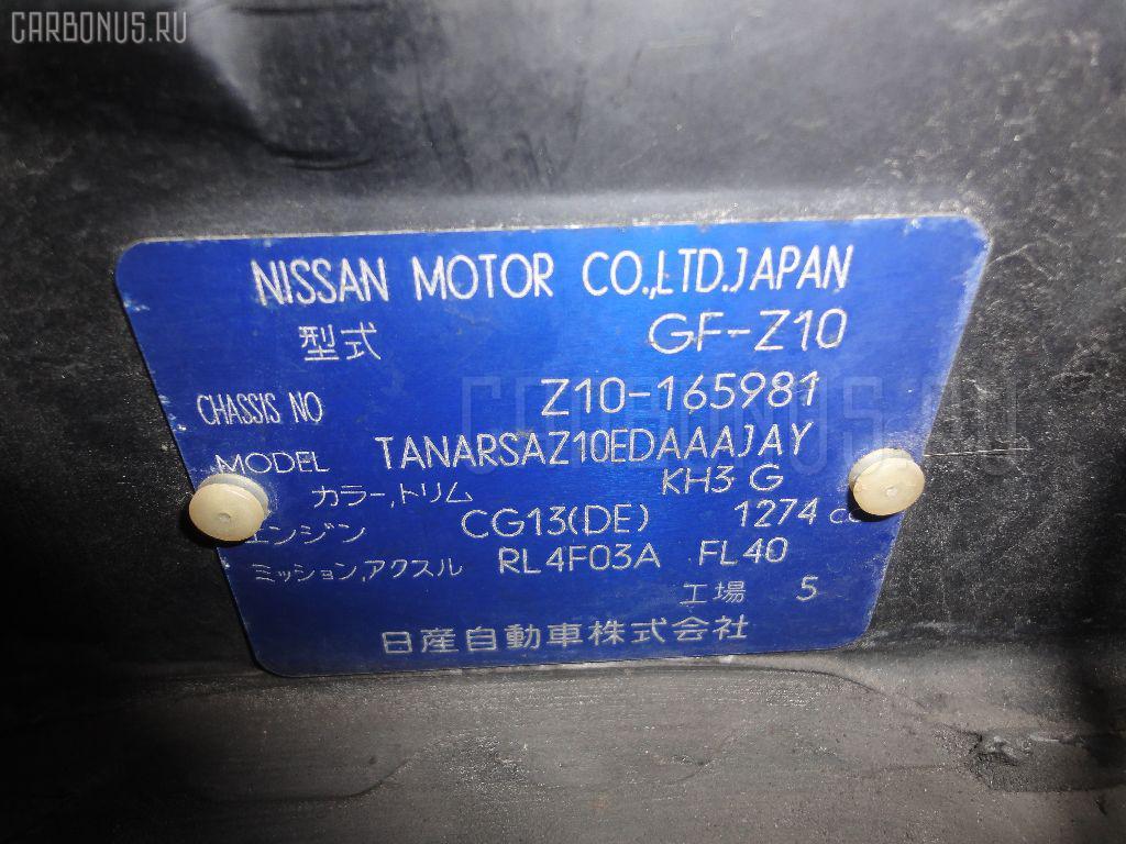 Блок управления климатконтроля NISSAN CUBE Z10 CG13DE Фото 7