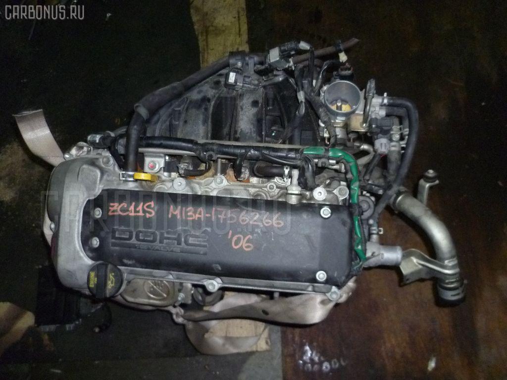 Двигатель SUZUKI SWIFT ZC11S M13A. Фото 11
