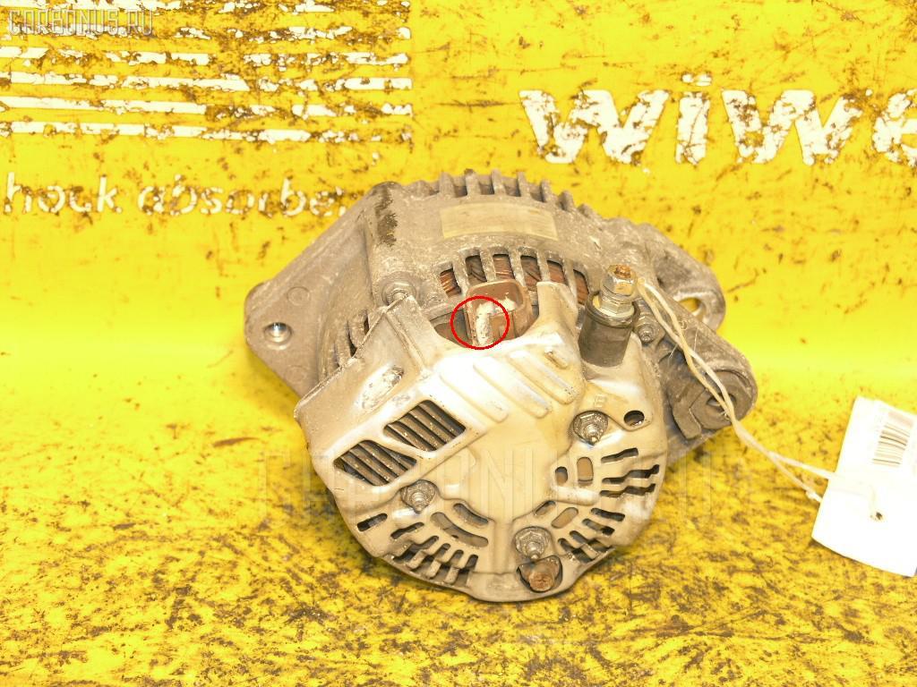 Генератор TOYOTA PASSO KGC10 1KR-FE. Фото 2