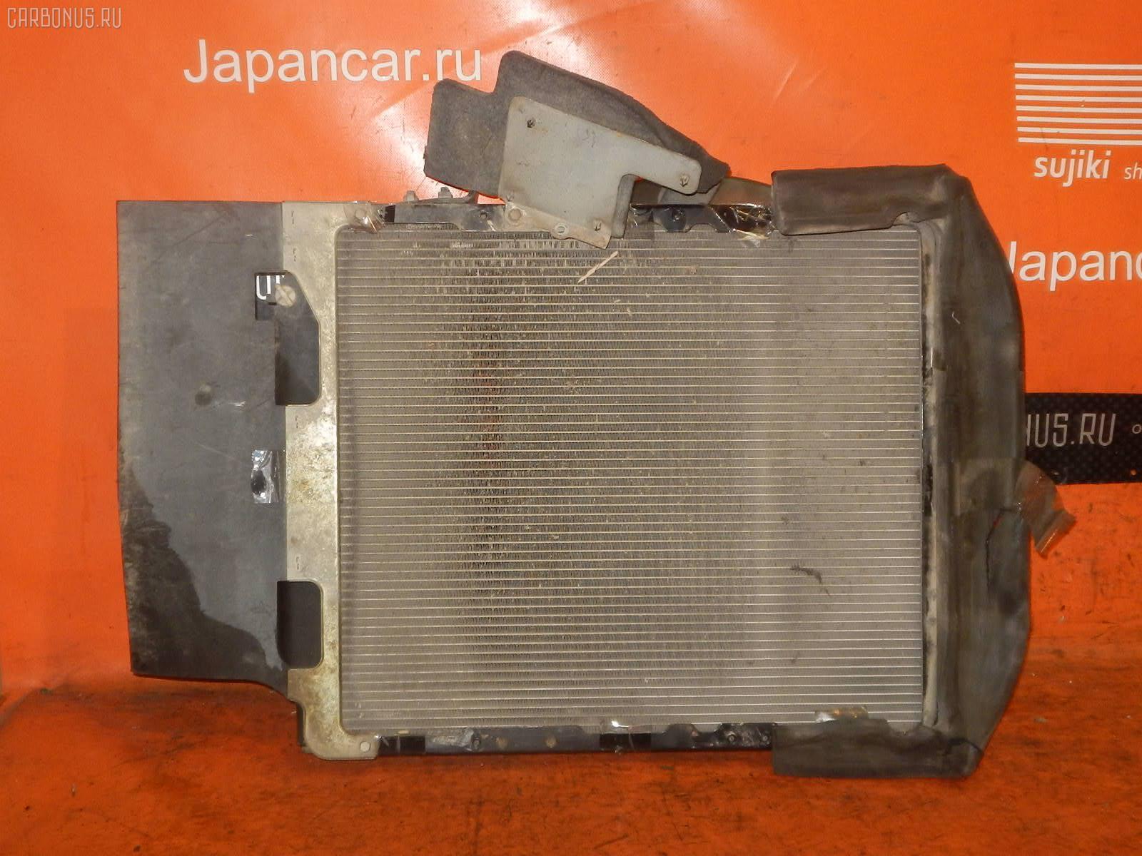 Радиатор ДВС HINO DUTRO XZU351I S05D Фото 2