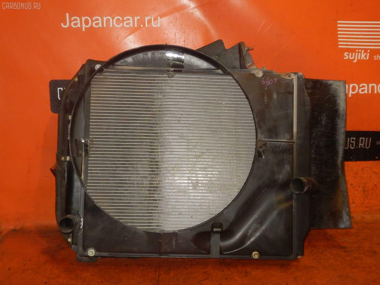 Радиатор ДВС HINO DUTRO XZU351I S05D Фото 1