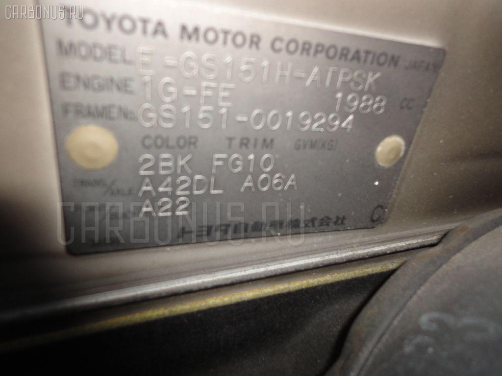 Шланг тормозной TOYOTA CROWN GS151 Фото 6