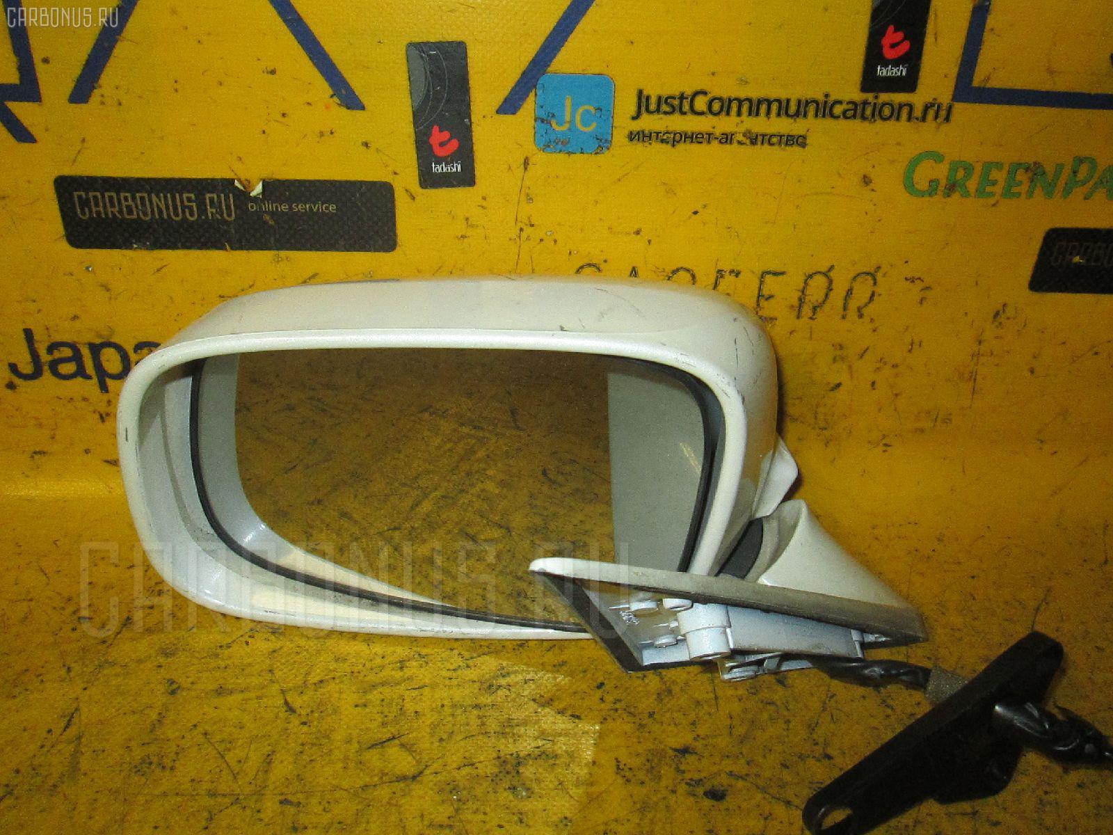 Зеркало двери боковой TOYOTA CROWN GS151. Фото 3