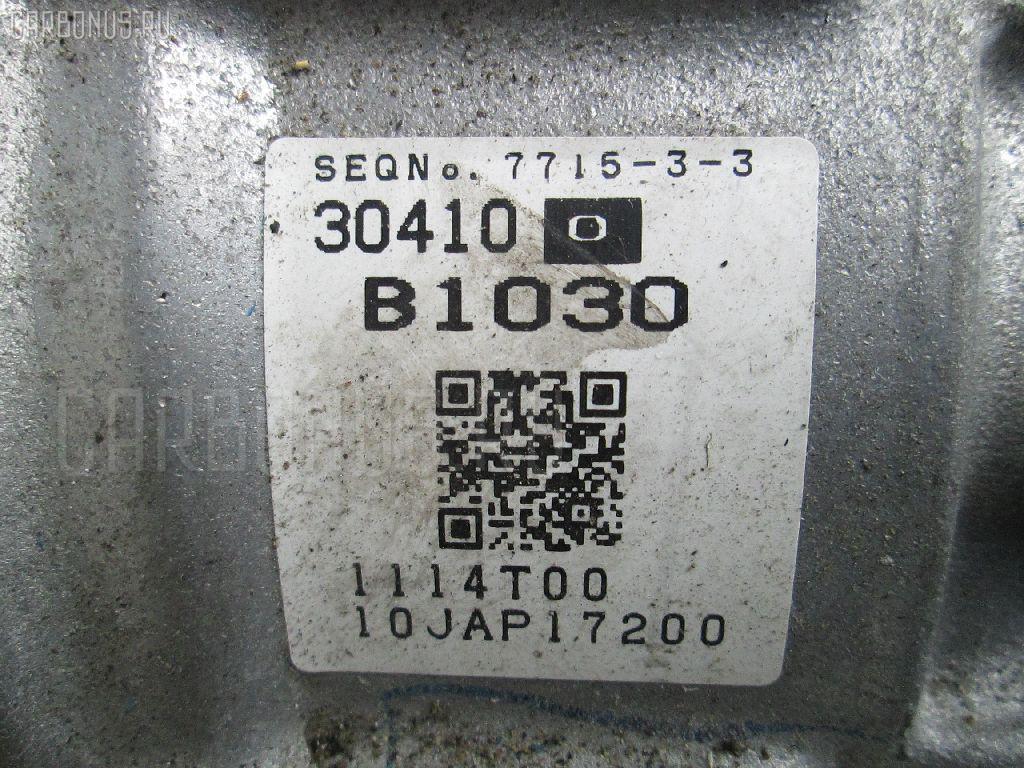 КПП автоматическая TOYOTA PASSO NGC30 1NR-FE Фото 1