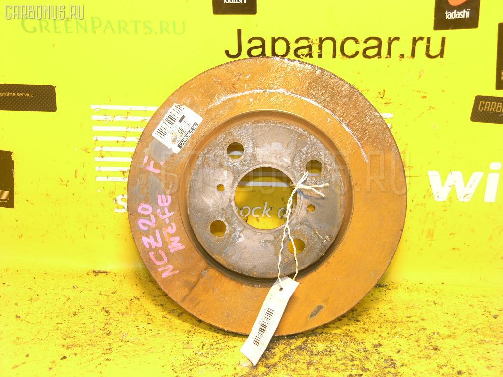 Тормозной диск TOYOTA PORTE NNP11. Фото 4