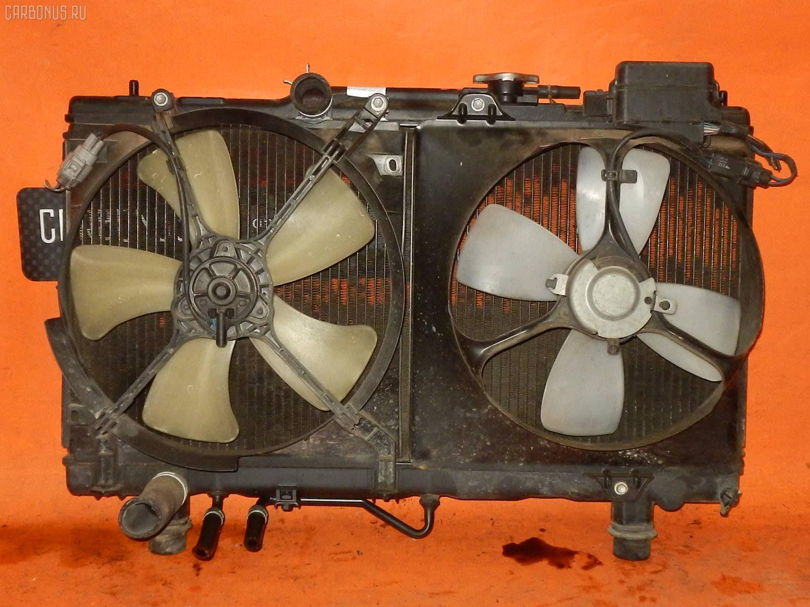 Радиатор ДВС TOYOTA CARINA AT210 4A-FE. Фото 1