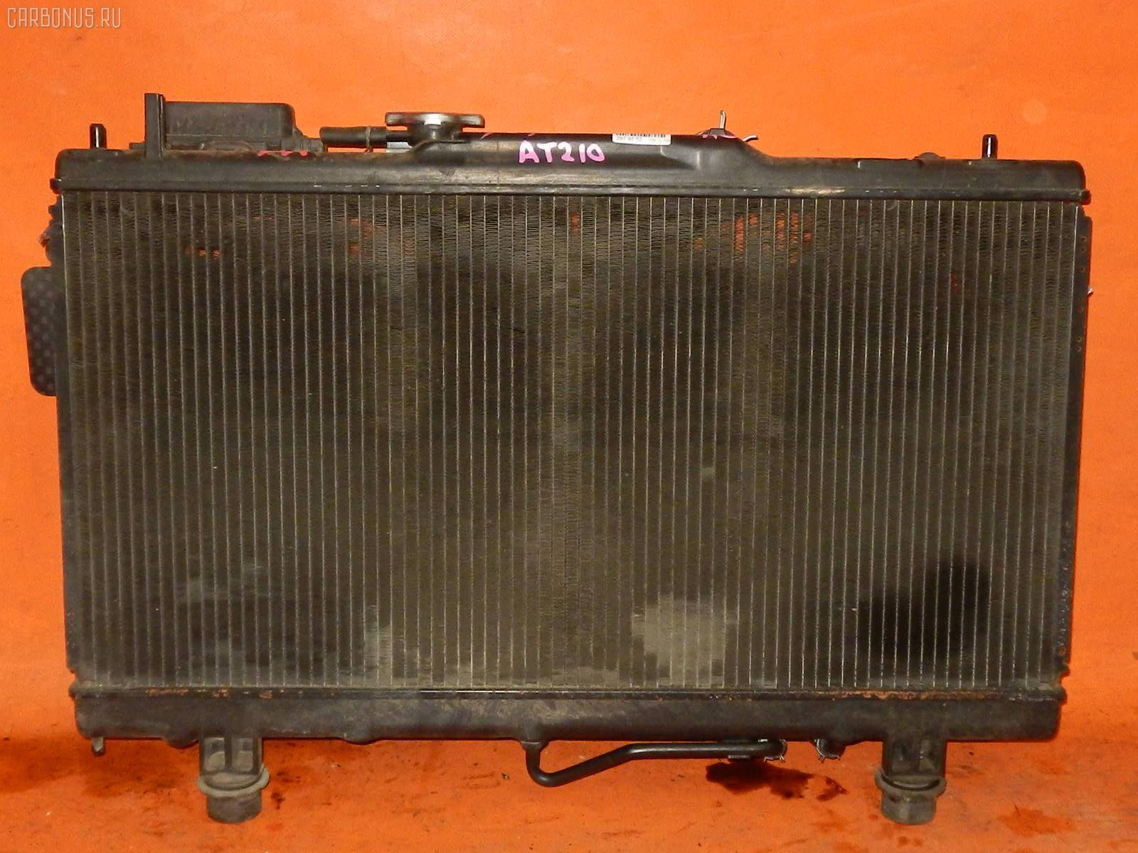 Радиатор ДВС TOYOTA CARINA AT210 4A-FE. Фото 2