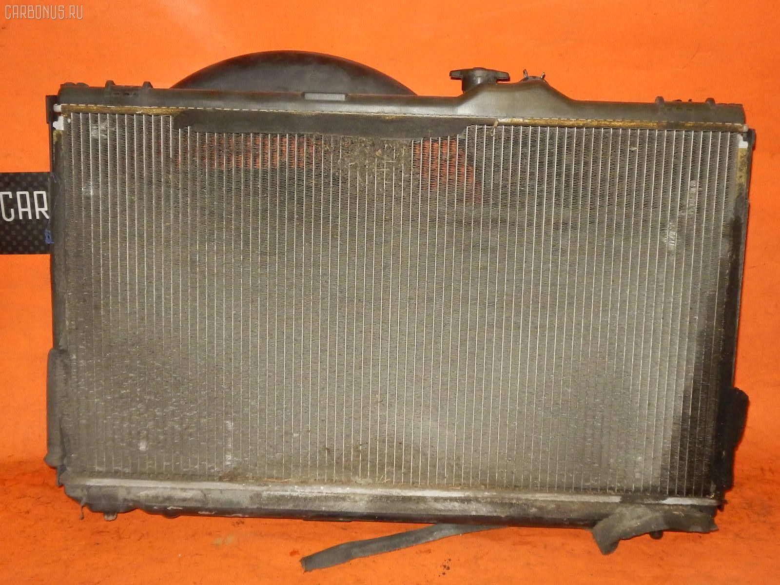 Радиатор ДВС TOYOTA JZX100 1JZ-GE. Фото 9