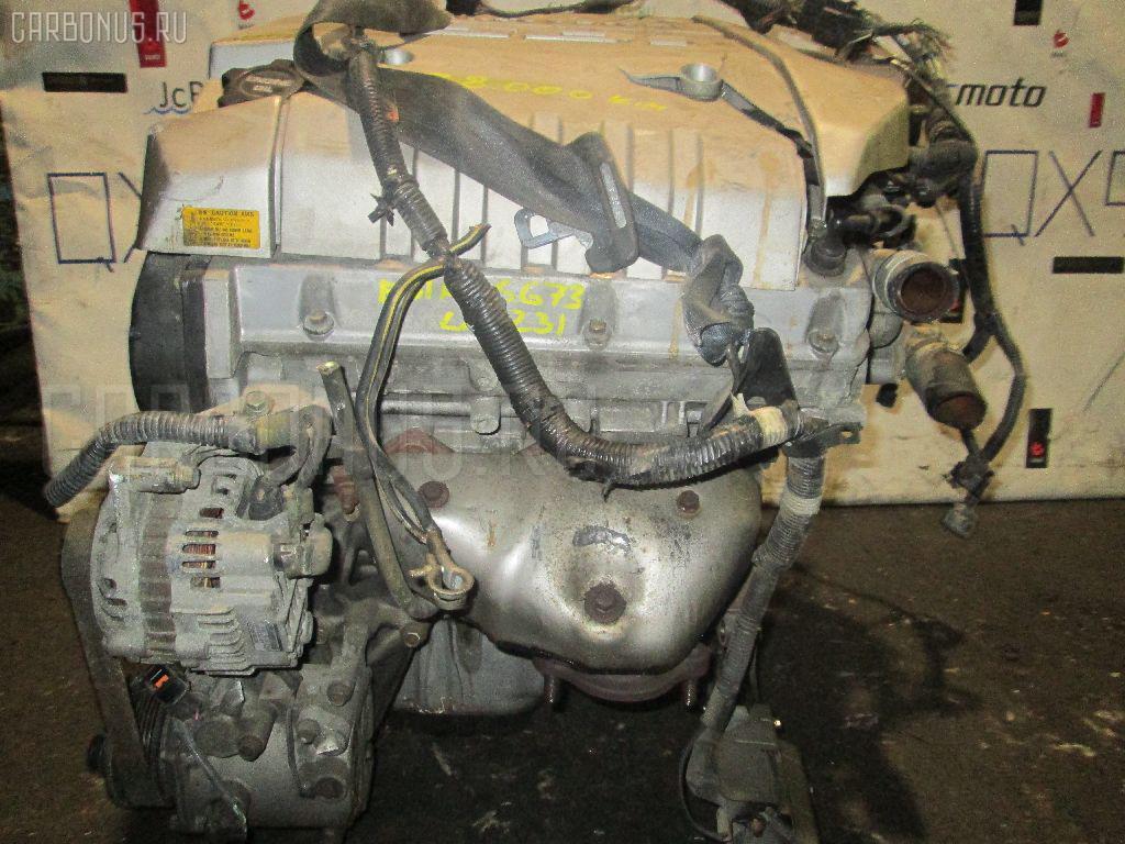 Двигатель MITSUBISHI DIAMANTE F31A 6G73. Фото 9