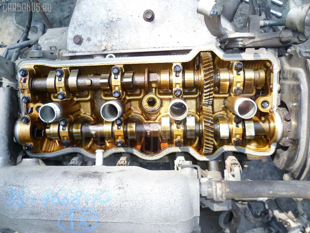 Двигатель TOYOTA IPSUM SXM10G 3S-FE. Фото 1