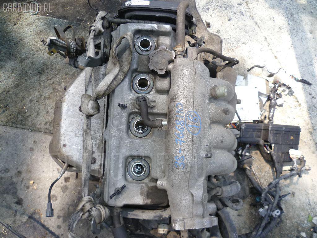 Двигатель TOYOTA IPSUM SXM10G 3S-FE. Фото 9