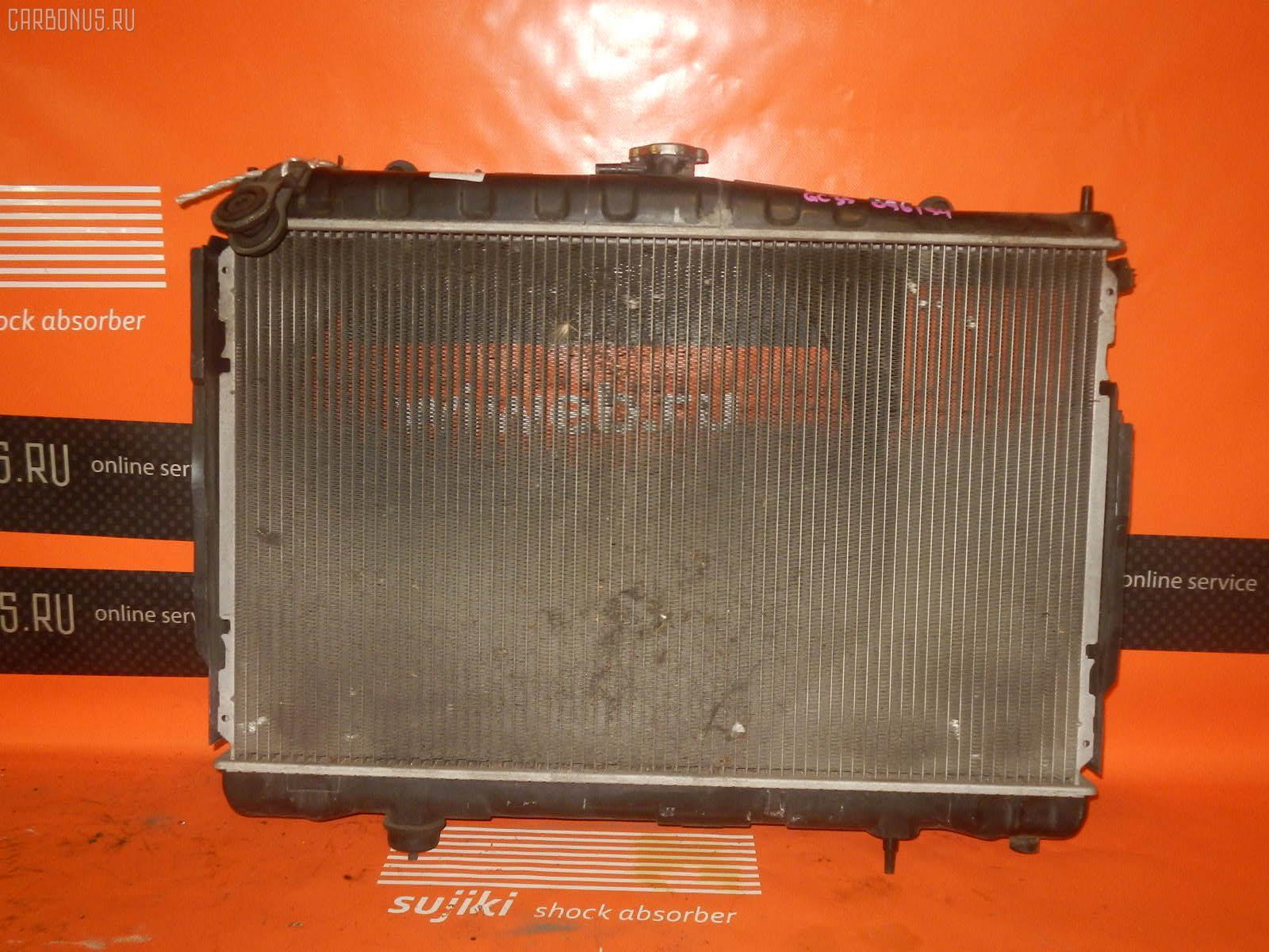 Радиатор ДВС NISSAN LAUREL GC35 RB25DE. Фото 7