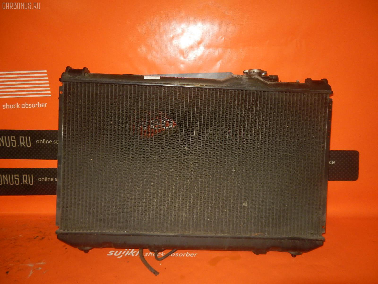 Радиатор ДВС TOYOTA VISTA SV33 3S-FE. Фото 8