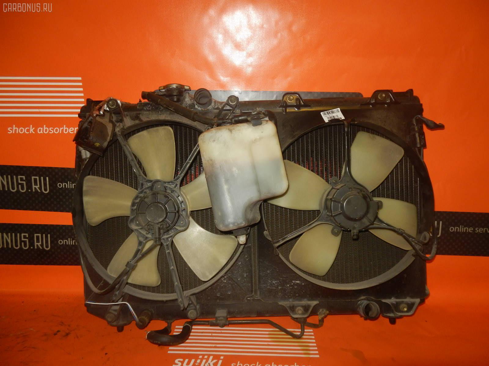 Радиатор ДВС TOYOTA VISTA SV32 3S-FE. Фото 9