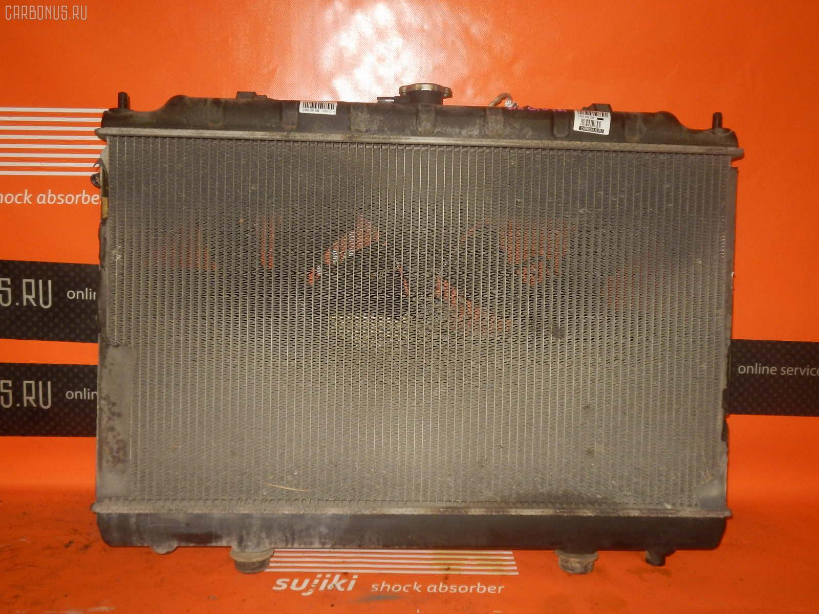 Радиатор ДВС NISSAN AVENIR W11 QG18DE. Фото 9